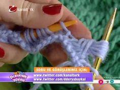 Derya Baykal'la Gülümse: Örgü Üstüne Folyo Varak Uygulaması - YouTube