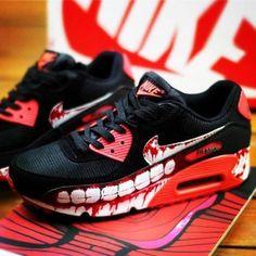 sale retailer fea8b 9656a for sale-- Nike Air Max ® 90 - Custom Camo  Hand Painted