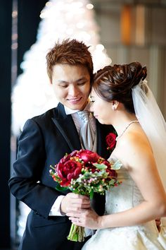 Seth & Patricia's Wedding Day Photos by Shu Yen