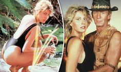 SHE'S best known for her role as the gutsy and determined Sue Charlton from Crocodile Dundee, but now Linda Kozlowski looks worlds apart from how audiences remember her most. Crocodile Dundee Linda Kozlowski, 80s Movies, Back In The Day, Celebrity News, Actors & Actresses, Cinema, Billionaire, Couple Photos, Sexy