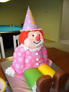 Clown Tammy by Vivi :o), via Flickr