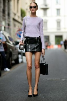 Are you too old for...mini skirts? // find out today on chicityfashion.com