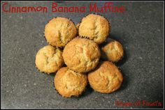Cinnamon Banana Muffins - will have to tweak for allergies