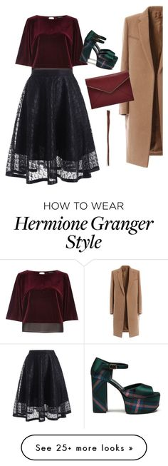 """""""Hermione Granger as minster for magic"""" by spellbounder on Polyvore featuring River Island, Mulberry and Rebecca Minkoff"""
