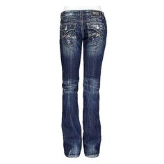Miss Me Sequin Wave Straight Stretch Jean ($50) ❤ liked on Polyvore featuring jeans, pants, bottoms, bottoms - jeans, zipper jeans, miss me straight leg jeans, slim fit jeans, embroidered jeans and straight-leg jeans
