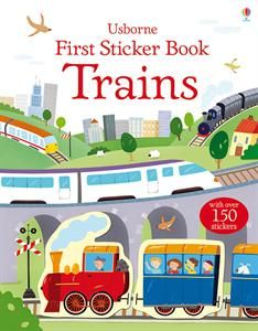 There are lots of different trains to discover in this fun and informative sticker book. Scenes include Freight trains, Monorail, Steam train, Underground train, Busy platform and Make your own train. Over 80 stickers to add to the pages. www.sarahsbookcorner.com