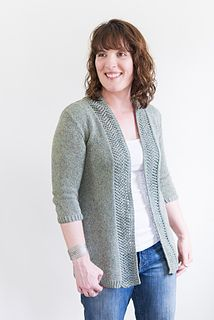 Ask any knitter what sweater she prefers to wear in warm-again-cold-again weather, and a cardigan will top the list. And there's lots of truth to those preferences!