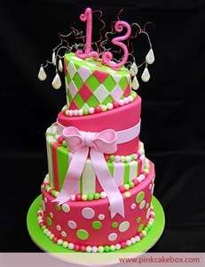 ... Cakes for Girls Cake Ideas for a 13th Birthday  Best Birthday Cakes