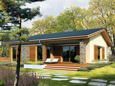 ideas exterior facade house floor plans for 2019 Modern Floor Plans, Modern House Plans, House Floor Plans, Small House Design, Modern House Design, Modern Bungalow House, Bungalow Exterior, Simple House Plans, Country Style House Plans