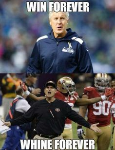 Hawks are Winners! Niners are Whiners!