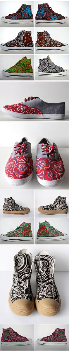 Qaqtis: Hand-Painted Shoes