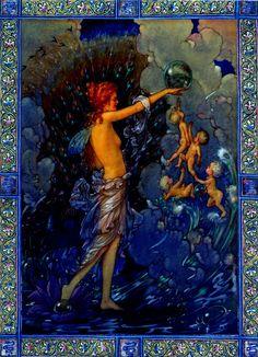 Ocean Fairy by Harold Gaze, circa 1918