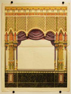 Alfred Jacobsen 400 (Proszenium für das maurische Theater in der F-Größe) - SKD Online Collection