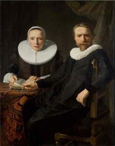 Abraham de Vries, A Double Portrait, ca. 1610-50