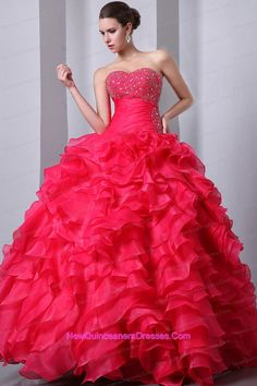 watermelon Unique quinceanera gown dresses
