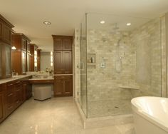 Pictures about Bathroom:Small Bathroom Ideas Tile Small Bathroom Ideas Tile Bathroom Shower Design Ideas Ceramic Small bathroom tile design ideas Bathroom:Small Spa Master Bathroom, Master Bath Shower, Small Bathroom Tiles, Small Bathroom With Shower, Beige Bathroom, Master Bath Remodel, Small Bathrooms, Travertine Bathroom, Huge Shower