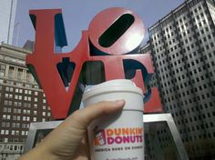 Raising our coffee cup to love. #DDLove
