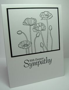 stamping up north: Stampin Up poppy card