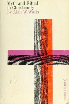 """Love this cover by Roy Kuhlman. """"Myth and Ritual Christianity"""""""