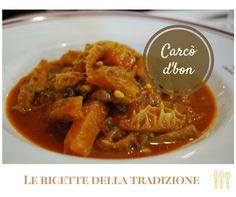 #Carcòdbon. In origine di maiale, tipica di molte regioni d'Italia - e anche di casa nostra - un piatto povero della #tradizione contadina. Stiamo parlando della #trippa!