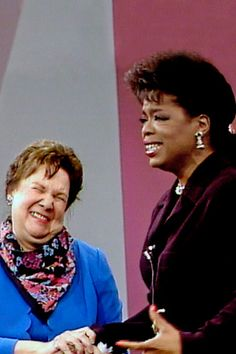 1989 - A surprise visit by Mary Duncan, Oprah's beloved fourth-grade teacher.