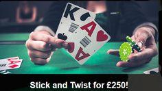 Live Blackjack - Stick and Twist for £250 This Sunday ComeOn Live Casino!