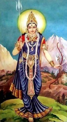 Indian Goddess, Goddess Art, Goddess Lakshmi, Shiva Art, Shiva Shakti, Hindu Art, Hindu Rituals, Hindu Mantras, Om Gam Ganapataye Namaha
