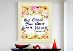 Hey, I found this really awesome Etsy listing at https://www.etsy.com/listing/474332301/ephesians-28-by-grace-you-have-been