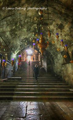 Entrance steps to Tomb of the Virgin Mary Jerusalem Mary Jesus Mother, Jerusalem Travel, Israel Travel, Israel Trip, Israel History, Visit Israel, Ends Of The Earth, History Images, Asia