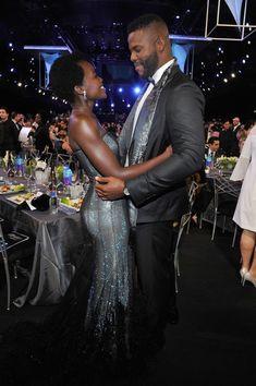 Lupita Nyong'o & Winston Duke