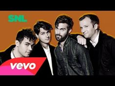 I love Vampire Weekend - This is a live version of Unbelievers from their appearance on SNL.