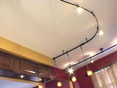 track lighting for kitchen   How to Install Pendant Track Lights  How-To  & Kitchen Renovation Expert Suggests Using Flexible Track Lighting ... azcodes.com