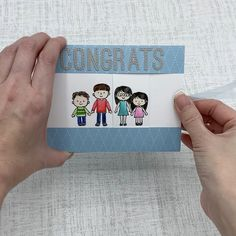 Stampin Up Family & Friends ** made by SoKnitpicky Slider Cards, Fancy Fold Cards, Card Tutorials, Cool Baby Stuff, Baby Cards, Stampin Up Cards, Friends Family, I Card, Fun Baby
