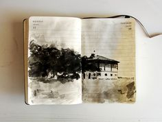 diary / sketchbook