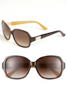 kate spade new york 'carmel' 58mm sunglasses available at #Nordstrom