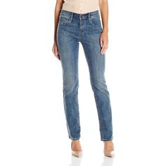58fb4d145 Levi's Women's 505 Straight-Leg Jean ($37) ❤ liked on Polyvore featuring  jeans