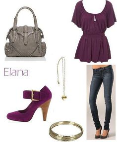 Purple outfit!