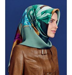 Armine Silk Hijab Scarf Fall 2015 - Winter 2016 #7266 – Modefa USA