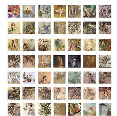 10 Premium Paper Collage Sheets Jewelry Decoupage Craft Art Choose from Over 100 Free Collage, Digital Collage, Scrabble Tile Crafts, Domino Art, Jewelry Making Kits, Arts And Crafts, Paper Crafts, Bamboo Crafts, Collage Sheet