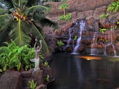 Anchored by cascading waterfall, 37 Ualei Pl. Makena, Maui is listed by Guida Anderson & Raphael Wellerstein of Island Sotheby's International Realty. Meticulously designed, this estate offers over 7,000 sq. ft. of interior living area and over 3,000 sq. ft of covered lanai, for seamless fusion of indoor/outdoor living. For more on this Extraordinary Maui Property see MLS #361158 at www.islandsothebysrealty.com.
