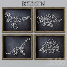 RH Dinosaur String Art