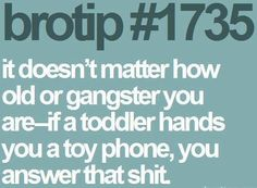 Bro tip