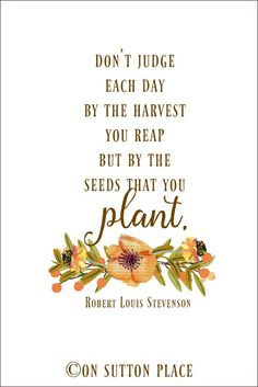Robert Louis Stevenson Fall Printable Don T Judge · Fall SayingsFall  QuotesFall ...