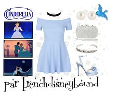 """Cendrillon (Cinderella)"" by frenchdisneybound ❤ liked on Polyvore featuring New Look, Nina, Disney, claire's, River Island, Revé, Henri Bendel, disney, cinderella and disneybound"