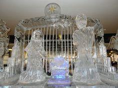 Atlanta Ice Sculptures - Nativity Scene on Ice