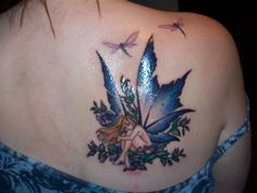 tattoos for women on wrist to elbow | Fairy Tattoo Designs For Girls: It All About Beauty Fairy Tattoo for ...