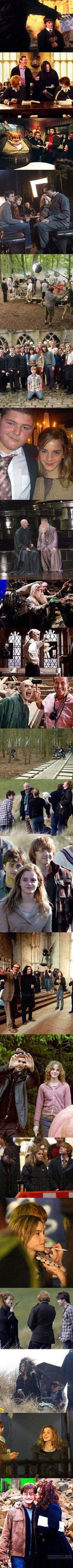 Harry Potter a kulisszák mögött