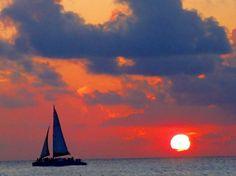 Perfect Cayman Sunset