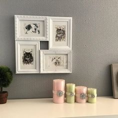 I love customer photos showing my works at their destination! Isn't that such a lovely and elegant arrangement?  the little gallery shows all their pets united in one frame. Thanks for the great pic and for your order dear @Cat_zazou! . #wandklex #malerei #handgemalt #aquarell #hahnemühle #kunst #art #watercolor #watercolour #tier #tierportrait #petportrait #auftragskunst #custompaint #comission #painting #catsofig #aussiesofinstagram #etsy #etsyde #dawanda #dawandade #etsyseller #etsyfinds…