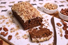 My Top Secret Gluten Free Carrot Loaf Cake Recipe (dairy free and low FODMAP)